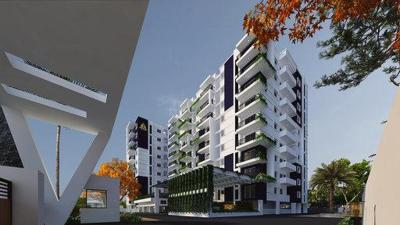 Gallery Cover Image of 1320 Sq.ft 3 BHK Apartment for buy in Sanjeevini Vaibhav, Whitefield for 7162001