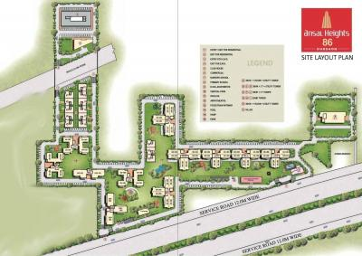Project Image of 3210 - 4410 Sq.ft 5 BHK Villa for buy in Ansal Heights II Villas