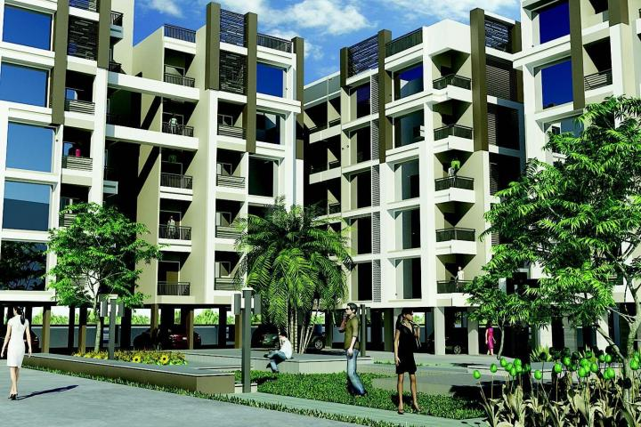 Project Image of 0 - 1098.0 Sq.ft 2 BHK Apartment for buy in Satyamev Riviera