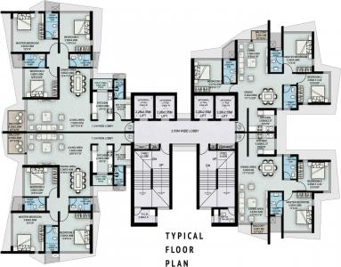 Project Image of 905.0 - 1466.0 Sq.ft 2 BHK Apartment for buy in Suraj Palette
