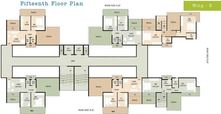 Project Image of 225.4 - 940.98 Sq.ft 1 BHK Apartment for buy in Shelter Riverside