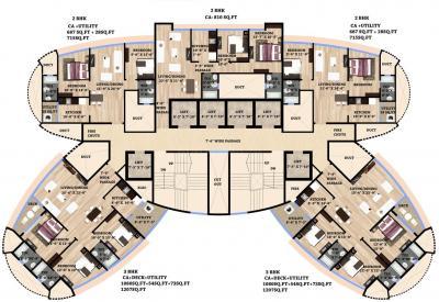 एचपीए एलेना रेसिडेंसी कमर्शियल में खरीदने के लिए 269.0 - 1159.0 Sq.ft 1 BHK अपार्टमेंट प्रोजेक्ट  की तस्वीर