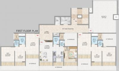 Gallery Cover Image of 1050 Sq.ft 2 BHK Apartment for rent in Aramus Residency, Kalamboli for 13000