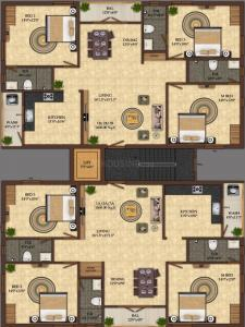 Project Image of 0 - 1600.0 Sq.ft 3 BHK Apartment for buy in India Builders Saras Sreenikethan