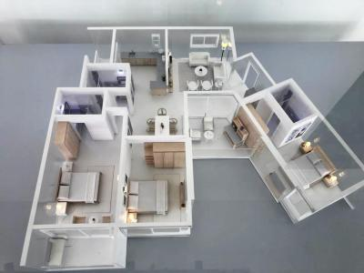 Gallery Cover Image of 856 Sq.ft 1 BHK Apartment for buy in Godrej Reflections, Harlur for 6700000