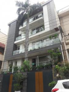 Gallery Cover Image of 500 Sq.ft 1 BHK Independent Floor for rent in Garhi for 11000