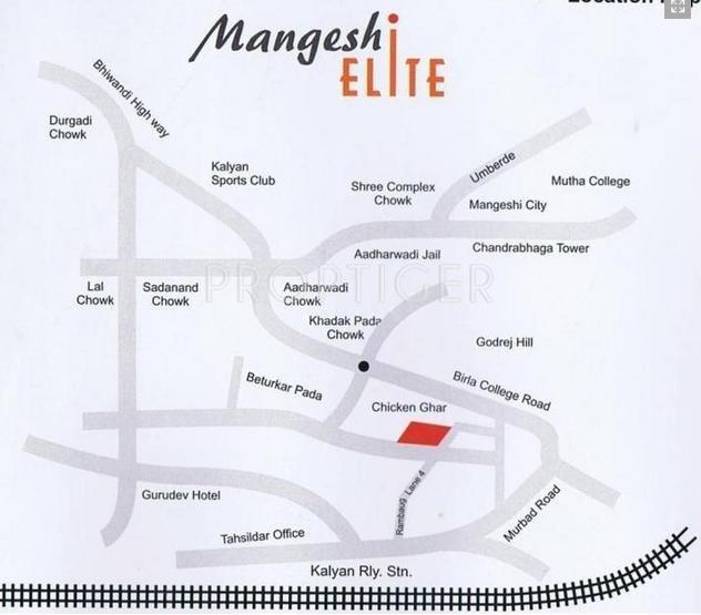 Project Image of 660.0 - 1035.0 Sq.ft 1 BHK Apartment for buy in Mangeshi Elite