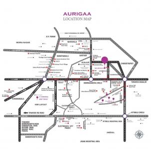 Project Image of 975 - 1285 Sq.ft 2 BHK Apartment for buy in Vivansaa Aurigaa