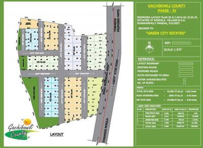 Residential Lands for Sale in Green City Gachibowli County Phase 4