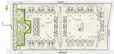 Gallery Cover Image of 1365 Sq.ft 3 BHK Apartment for buy in ATS Haciendas, Ahinsa Khand for 10500000