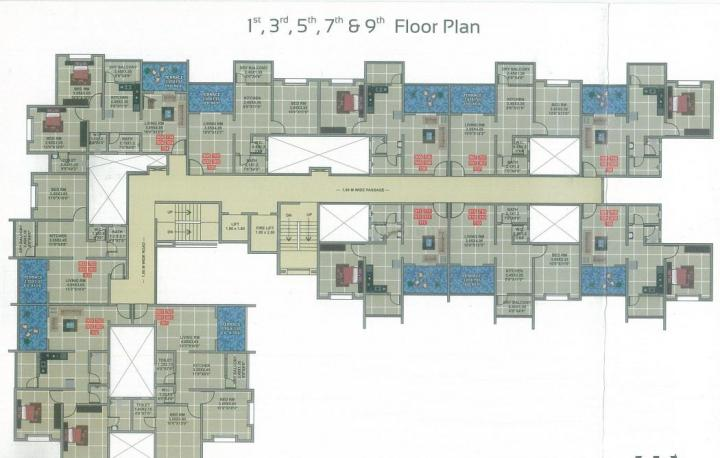 Project Image of 365.22 - 486.1 Sq.ft 1 BHK Apartment for buy in Mehta Shree Jalaram Park