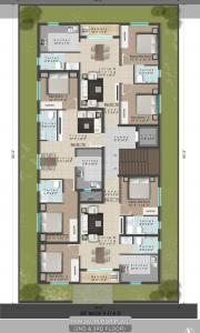 Project Image of 770.0 - 1285.0 Sq.ft 2 BHK Apartment for buy in Domestic Poompunal Flats