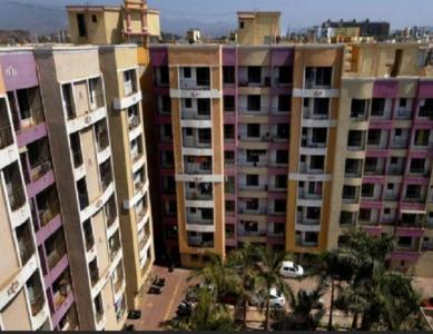 Gallery Cover Image of 777 Sq.ft 3 BHK Apartment for rent in Rashmi Garden, Virar East for 9000