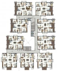 Project Image of 1764.96 - 2159.99 Sq.ft 3 BHK Apartment for buy in Lansum Eden Gardens