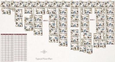 व्हाइट वुड्स में खरीदने के लिए 1050.0 - 1550.0 Sq.ft 2 BHK अपार्टमेंट प्रोजेक्ट  की तस्वीर
