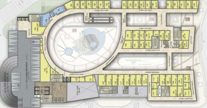 Project Image of 130.17 - 161.42 Sq.ft Shop Shop for buy in Sikka The Downtown