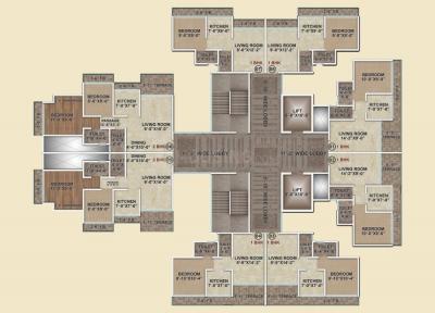 ड्रीम्ज़ द क्लासिक में खरीदने के लिए 305.0 - 526.0 Sq.ft 1 BHK अपार्टमेंट प्रोजेक्ट  की तस्वीर
