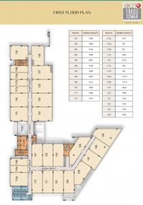 Gallery Cover Image of 900 Sq.ft 3 BHK Independent House for rent in Suncity Township, Sector 54 for 70000
