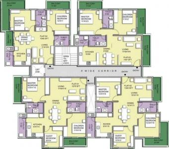 Project Image of 1048 - 1300 Sq.ft 2 BHK Apartment for buy in Pristine Woods