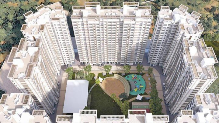 Project Image of 385.0 - 390.0 Sq.ft 1 BHK Apartment for buy in Raunak City Sector IV D2
