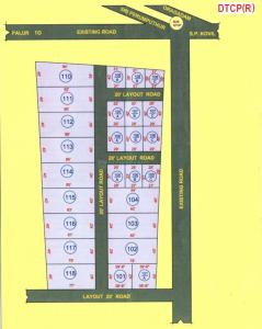 Project Image of 840.0 - 1240.0 Sq.ft Residential Plot Plot for buy in Sri Matru Compact Plots