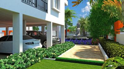 Gallery Cover Image of 1530 Sq.ft 3 BHK Apartment for rent in Ruchira Lilium, Kadugodi for 30000