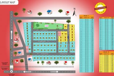 Project Image of 1800.0 - 2400.0 Sq.ft Residential Plot Plot for buy in Wisdom Sri Sai Garden