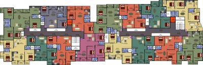 Project Image of 1100.0 - 2046.0 Sq.ft 2 BHK Apartment for buy in DS Max Samrat