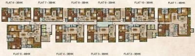 Gallery Cover Image of 1731 Sq.ft 2 BHK Apartment for buy in Rajarajeshware Piccassso, Jayanagar for 22000000