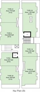 Project Image of 423 - 1164 Sq.ft 1 BHK Apartment for buy in Galaxy Emerald