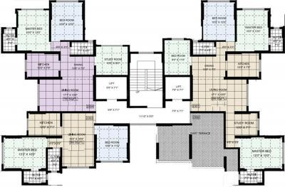 Project Image of 460.0 - 914.0 Sq.ft 2 BHK Apartment for buy in Aditya Priti Sangam CHS