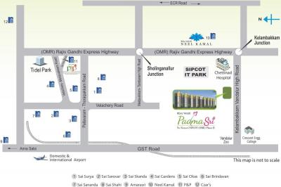 Project Image of 913 - 1205 Sq.ft 2 BHK Apartment for buy in Real Padmasri