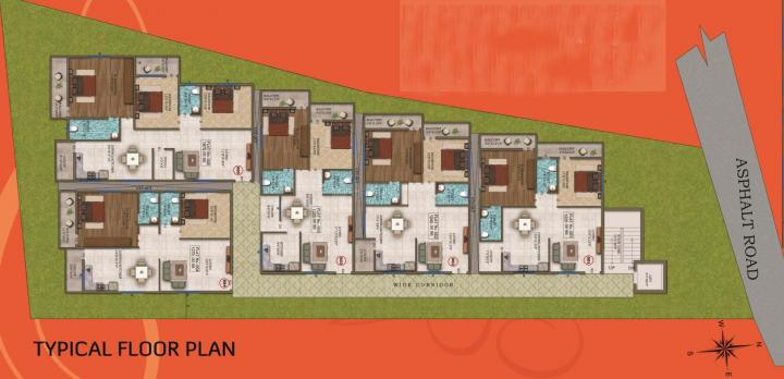 Project Image of 1220.0 - 1675.0 Sq.ft 2 BHK Apartment for buy in Jishitha Sri Tejith