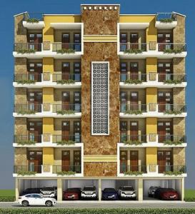 Gallery Cover Image of 800 Sq.ft 2 BHK Apartment for rent in Maan Aashiana Homes, Shahberi for 7000