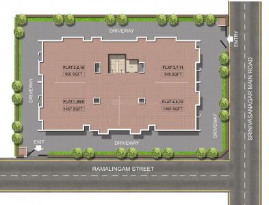 Project Image of 638 - 985 Sq.ft 2 BHK Apartment for buy in Jain Anukriti