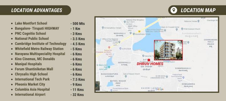Project Image of 1100.0 - 1350.0 Sq.ft 2 BHK Apartment for buy in SLN Dhruv Homes