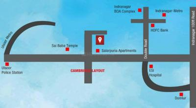 Gallery Cover Image of 1175 Sq.ft 2 BHK Apartment for buy in Kruthi Sai Cambridge Residency, Jogupalya for 10000000