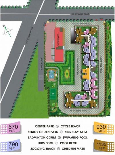 Project Image of 343.0 - 638.0 Sq.ft 1 BHK Apartment for buy in Shree Klassic Homz