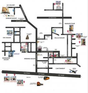 Project Image of 850.0 - 890.0 Sq.ft 2 BHK Apartment for buy in Bharathi Sai Oaks