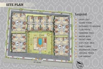 Project Image of 1525 - 4270 Sq.ft 2 BHK Apartment for buy in Alokik Mayur Dhwaj Grand