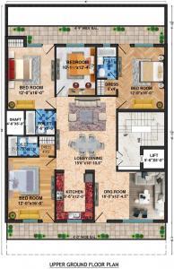 लॉर्ड कृष्ण रॉयल फ्लोर्स 2 में खरीदने के लिए 0 - 2700.0 Sq.ft 4 BHK अपार्टमेंट प्रोजेक्ट  की तस्वीर