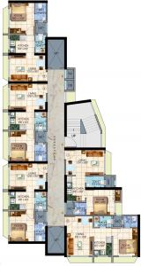 Project Image of 0 - 321.0 Sq.ft 1 BHK Apartment for buy in Sethia Aashray Phase 1