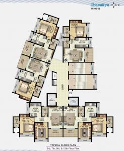 Project Image of 479 - 628 Sq.ft 1 BHK Apartment for buy in Vadilal Chanakya B Wing