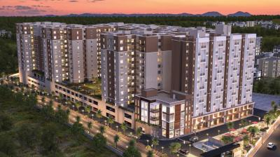 Gallery Cover Image of 880 Sq.ft 2 BHK Apartment for buy in Provident Capella 1, Thirumalashettyhally for 4500000