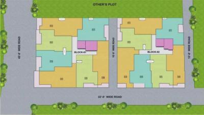 अम्बेस्टेन ट्विन काउंटी में खरीदने के लिए 910.0 - 950.0 Sq.ft 2 BHK अपार्टमेंट प्रोजेक्ट  की तस्वीर