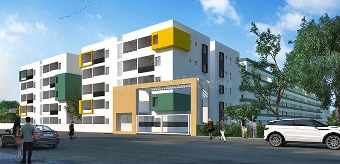 Project Image of 1386.0 - 1761.0 Sq.ft 2 BHK Apartment for buy in Chowdeshwari Thirumala Lakshmi Vaibhav