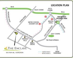 Gallery Cover Image of 1895 Sq.ft 3 BHK Independent Floor for buy in Emaar The Enclave, Sector 66 for 14500000