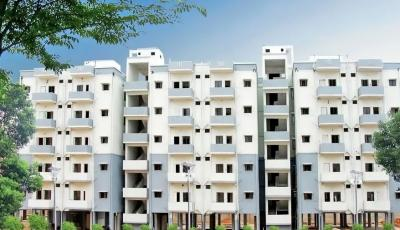 Gallery Cover Image of 800 Sq.ft 2 BHK Apartment for rent in  Aarambh Township, Serilingampally for 15000