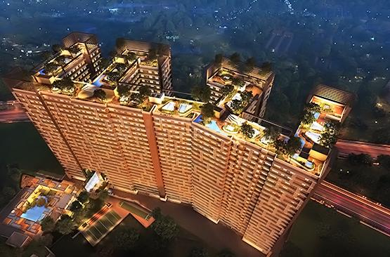 Project Image of 724.0 - 956.0 Sq.ft 2 BHK Apartment for buy in Spenta Enclave Altavista Phase 2