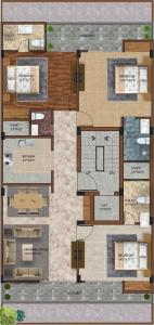 Project Image of 0 - 1650.0 Sq.ft 3 BHK Apartment for buy in Surendra Lebernum Floor